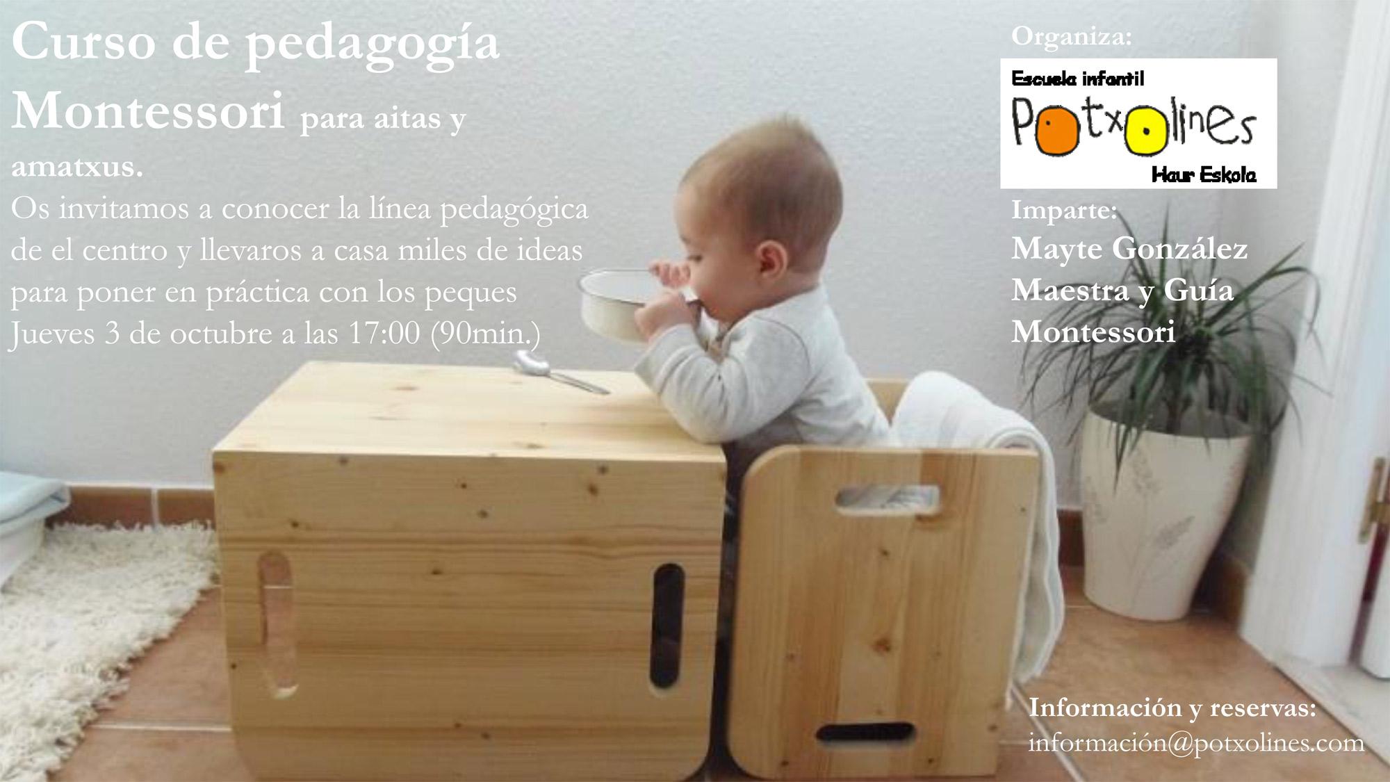 Curso de Pedagogía Montessori