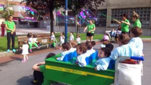 Escuela Infantil Eskurtze, zona peatonal
